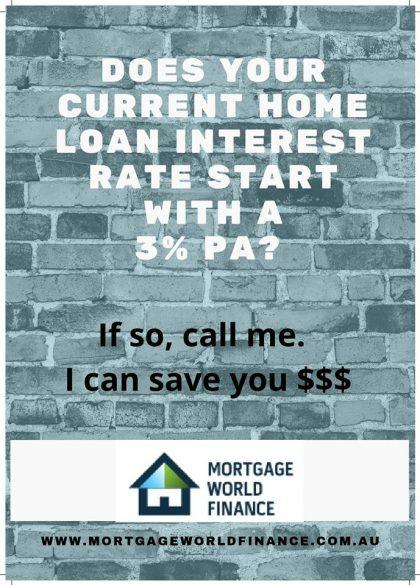 home loan interest rates mortgage broker